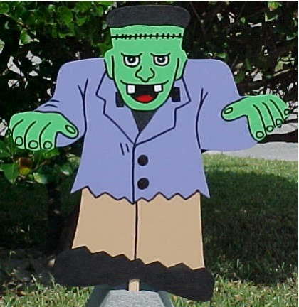 Frankenstein Lawn Sign