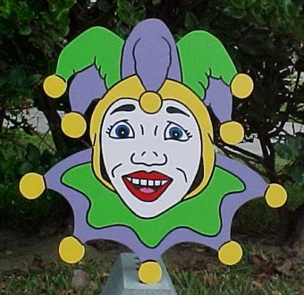 Jester Lawn Sign