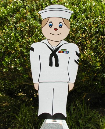 Little Sailor Lawn Sign